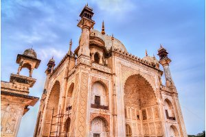 Bibi Ka Maqbara Tomb, also known as Mini Taj Mahal. Aurangabad, India