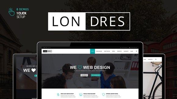 Londres Stylish Wordpress Theme
