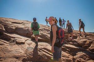Hiking Arches National Park, Utah