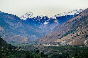 Nepali Mountain + Village