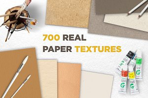 50 % OFF Real Paper Textures Bundle