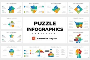 Puzzle Infographics PowerPoint