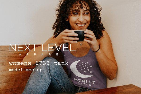 Next Level 6733 Women's Tank Mockup