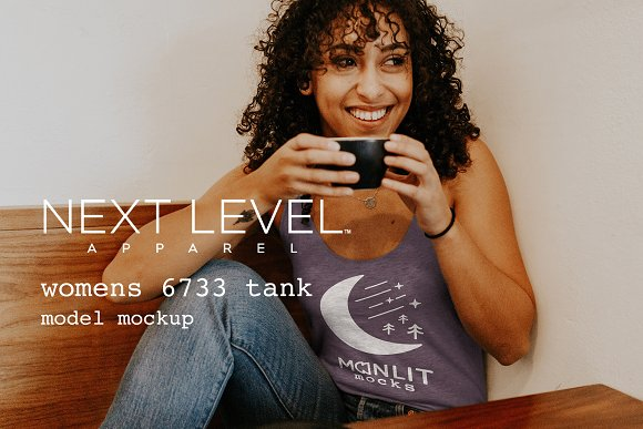 Next Level 6733 Women's Tank Mockup