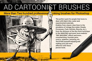 The Cartoonist Brushes