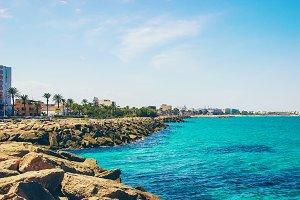 The Mediterranean Sea Tunisia Mahdia