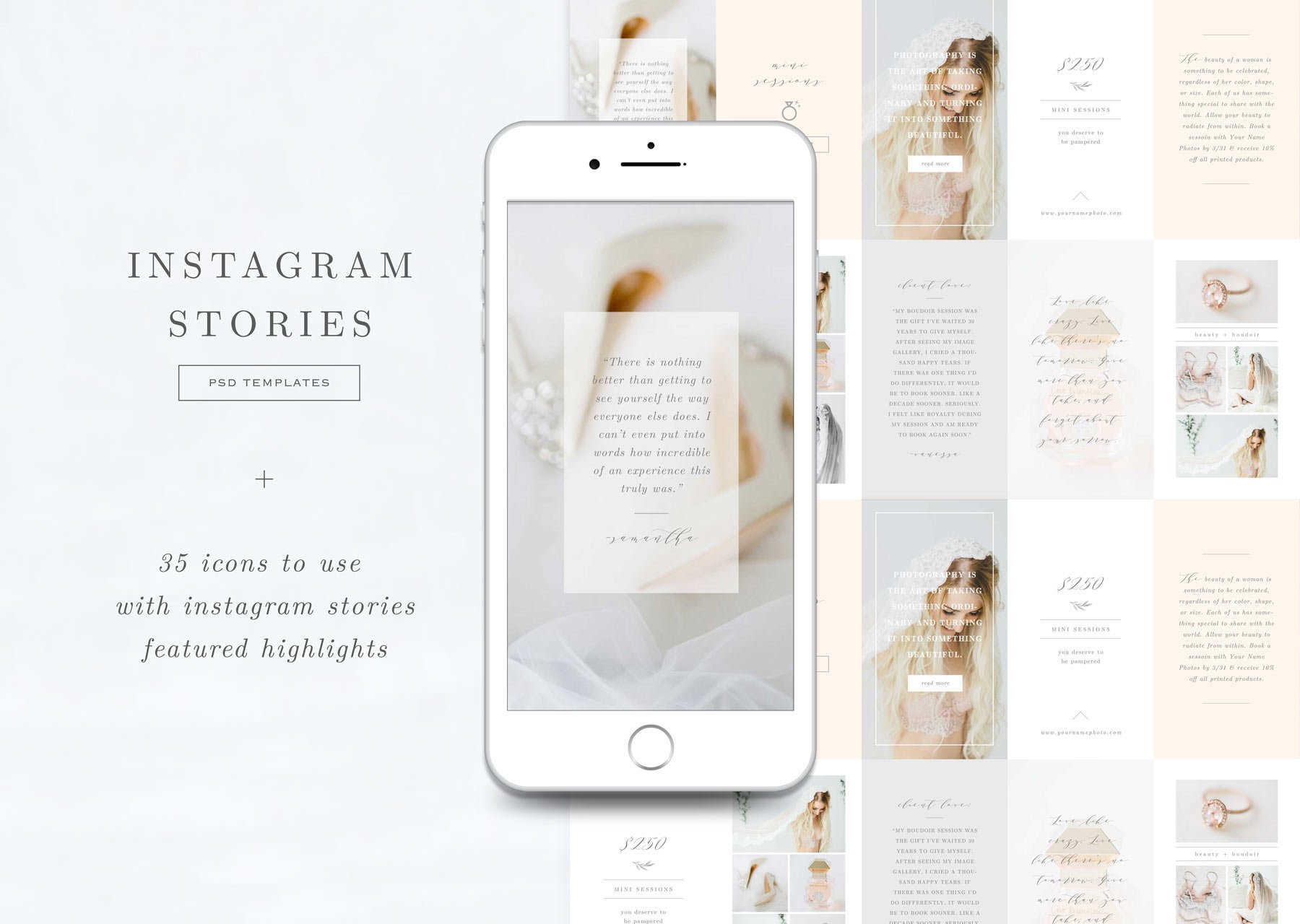 Instagram Stories & Highlights Icons ~ Instagram Templates