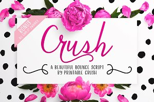 Crush Script Font