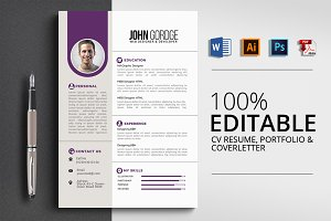 Word CV Resume