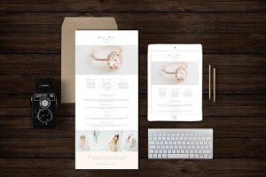 Photographer Newsletter Template
