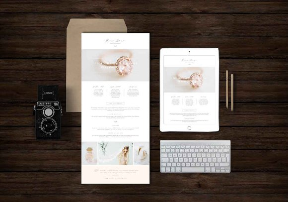 Boudoir Newsletter Template