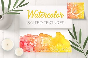Watercolor Salted Textures