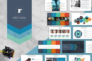 First Goal | Powerpoint Template