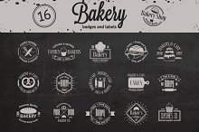 Set of vintage bakery logos vol.2