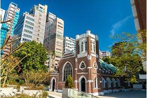 St Andrews Church in Kowloon, Hong Kong