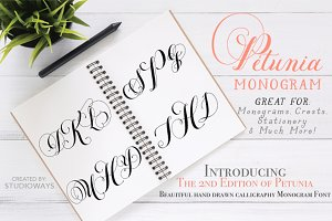 Intro sale! Petunia Monogram