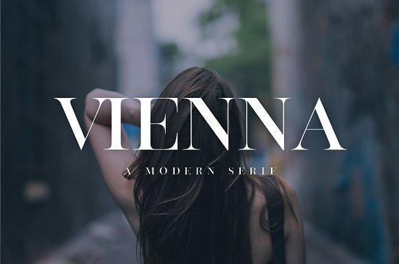 Vienna Modern Serif Font
