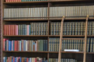 Book shelf background