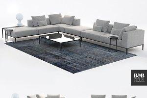 B&B Italia sofa /michel effe/ model