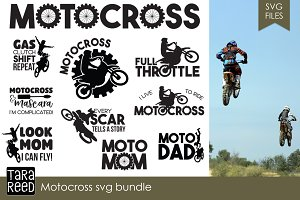 Motocross SVG Bundle