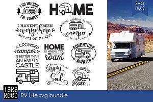 RV Life SVG Bundle