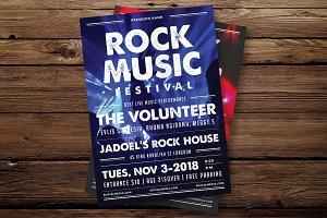 Rock Festival Flyer