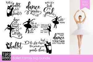 Ballet Family SVG Bundle