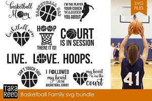 Basketball Family SVG Bundle