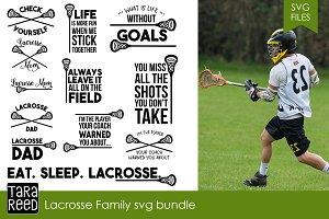 Lacrosse Family SVG Bundle