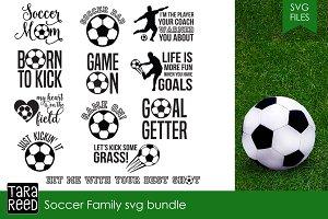Soccer Family SVG Bundle