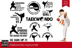 Taekwondo SVG Bundle