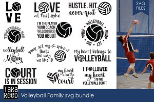 Volleyball Family SVG Bundle