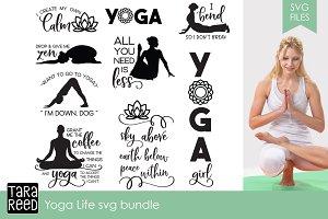 Yoga Life SVG Bundle