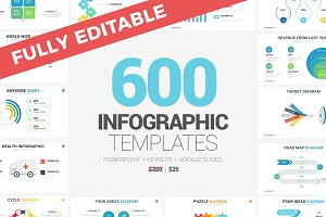 MEGA Infographics + FREE Updates