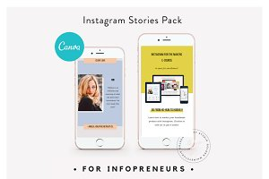 CANVA Infopreneur Insta Stories