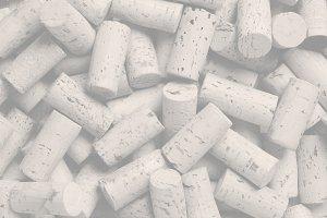 Wine Corks for Wine Menu Background