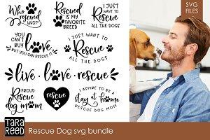 Rescue Dog SVG Bundle