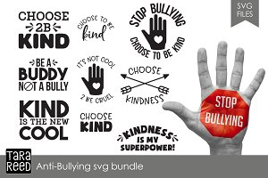 Anti-Bullying SVG Bundle