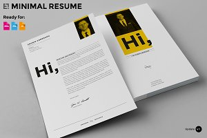 7 Pages - Minimal Resume CV