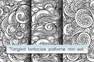 Tangled tentacles patterns mini-set