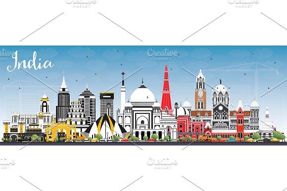 India City Skyline