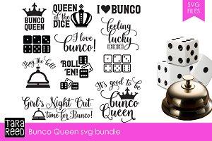 Bunco Queen SVG Bundle