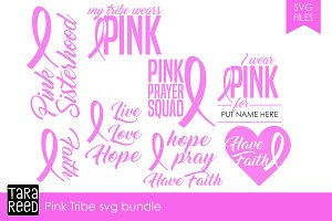 Pink Tribe SVG Bundle