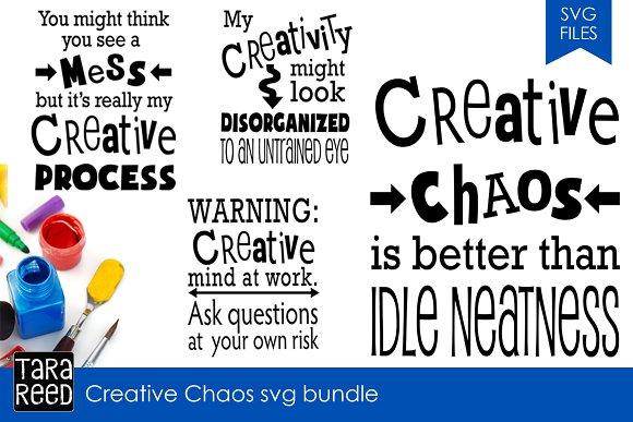 Creative Chaos SVG Bundle