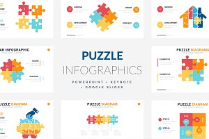 Puzzle Infographics | PPT - KEY - GS