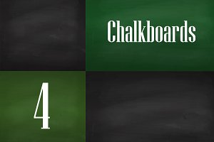 Big set of chalk boards
