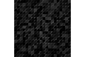 Seamless Vector Background With Random Shapes
