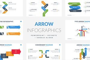 Arrow Infographics | PPT - KEY - GS