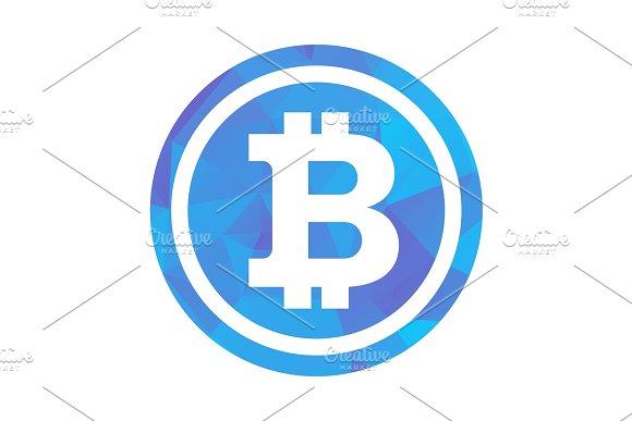 Bitcon Triangle Blue