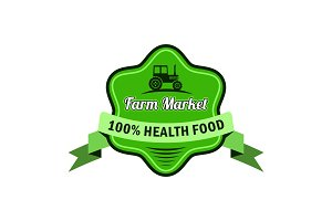 Freshness logo for farm market and store